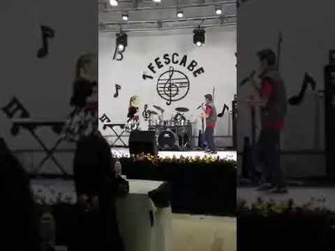 Apresentação no Festival da Canção de Benedito Novo 2017