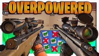 the BEST LOADOUTS for SNIPING in Black Ops Cold War (LW3 Tundra & Pellington 703 Class setup)
