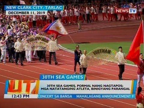 [GMA]  BT: 30th SEA Games, pormal nang nagtapos; Mga natatanging atleta, binigyang parangal