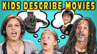 CAN PARENTS GUESS MOVIES DESCRIBED BY KIDS? #3 (React) - dooclip.me
