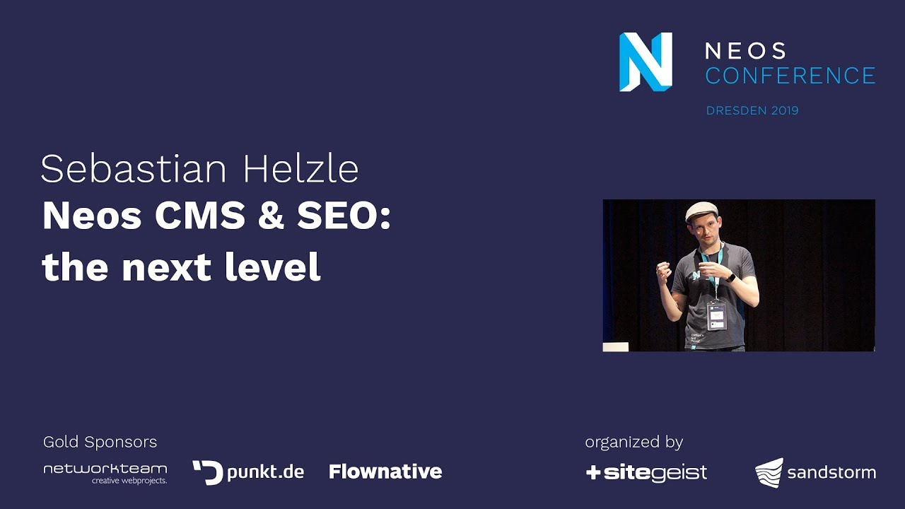 Neos Con 2019 | Sebastian Helzle: Neos CMS & SEO - the next level (Yoast)
