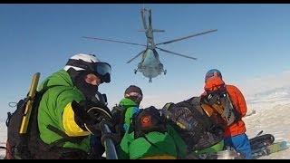 preview picture of video 'Хелиски в Караколе 2014 / Heliskiing in Karakol 2014'