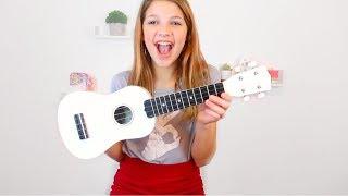 Beginner Ukulele Tutorial - How to Play (& sing) 3 easy songs