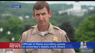 Maine Authorities Give Update On Deadly Shark Attack In Maine