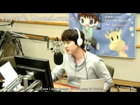 ENG-SUB] Sukira 141001 Super Junior Week Special DJ Kyuhyun talking