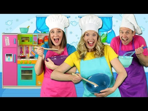 Cooking in the Kitchen - Kids Song - Pretend Play Cooking with Fun Food for Kids