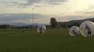 preview picture of video 'Bubble football / soccer Maria Saal'