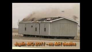 Manufactured Home Hit by a Tornado and High Winds