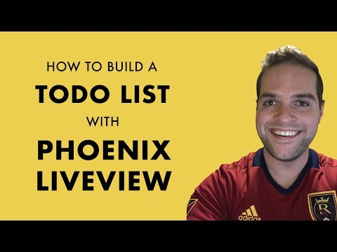 How to Create a Todo List with Phoenix LiveView