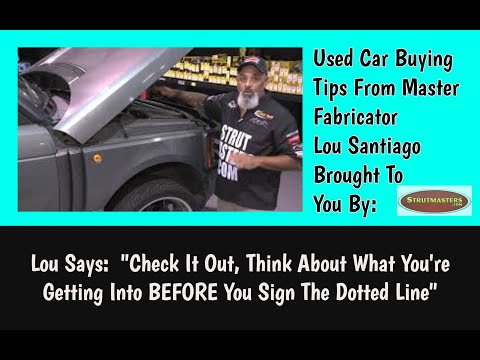 Air Suspension Tech Tip # 1 From Lou Santiago For Strutmasters