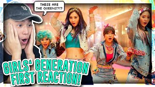 FIRST TIME REACTING TO GIRLS GENERATION![REACTION]