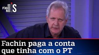 Augusto Nunes: Fachin absolveu Lula por excesso de crimes