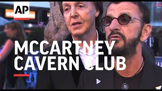 McCartney returns to roots with gig at Liverpool's Cavern Club