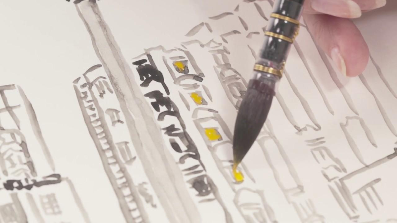 Кисть синтетика имитация белки круглая Da Vinci 498 Casaneo короткая ручка видео