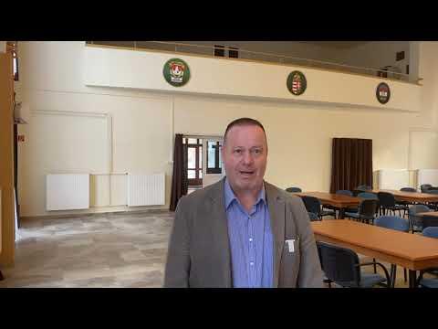 EDR rádiók átadása és oktatás Vas megyében