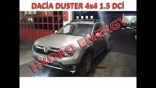 Dacia Duster 4x4 dizel hidrojen yakıt tasarruf sistem montajı