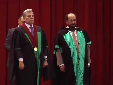 حفل منح الدكتوراه الفخرية لسمو الشيخ الدكتور سلطان بن محمد القاسمي - الجرء الثاني