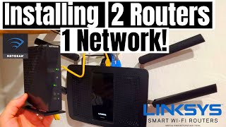 HOME NETWORKING 101- HOW TO CONNECT 2 ROUTERS IN ONE HOME NETWORK