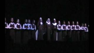 Sound of Music Finale featuring Cortney Tarell as Mother Abess