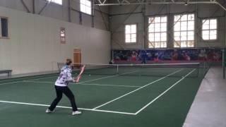 College Tennis Recruiting Video 2017 - Angelina Skidanova
