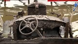 В Новгородском районе завершился подъем из воды военного грузовика Красной армии