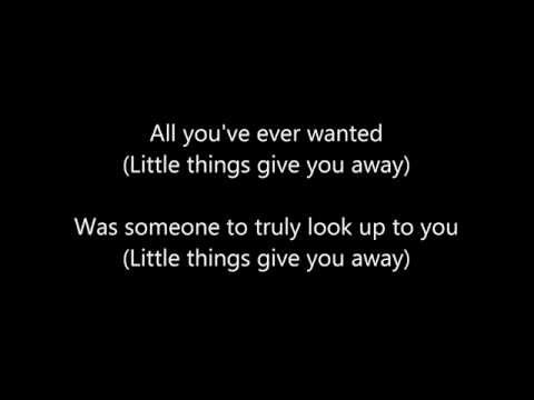 Linkin Park - The little things give you away  Lyrics