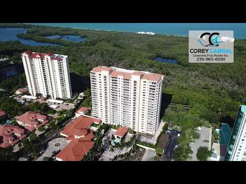 Pelican Bay Marbella Naples Florida 360 degree video fly over