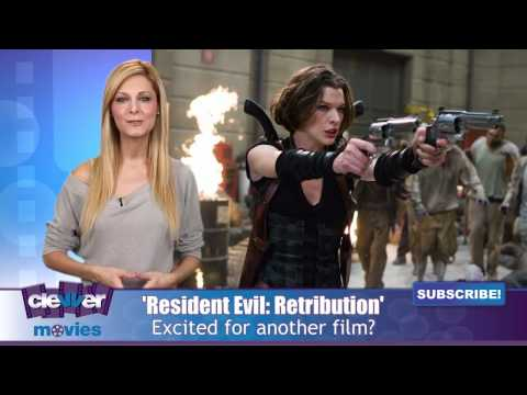 Resident Evil: Retribution (Behind the Scene 'Michelle Rodriguez')