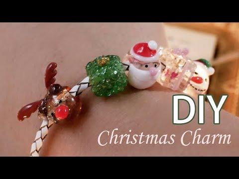 水晶滴膠教學! 3d-nail潘朵拉珠珠水晶膠耶誕主題
