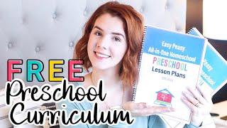 FREE PRESCHOOL CURRICULUM | Easy Peasy All-In-One Homeschool