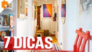 Dicas incríveis para você decorar o hall de entrada da sua casa.