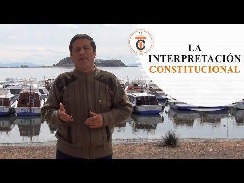 LA INTERPRETACIÓN CONSTITUCIONAL - Tribuna Constitucional 93 - Guido Aguila Grados