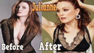 Julianne Moore ♕ Best Transformation From 11 To 57 Years Old