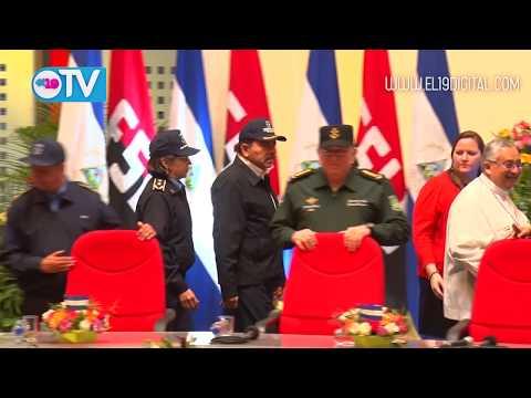 Daniel y Rosario presiden acto del 38 Aniversario de fundación de la Policía Nacional