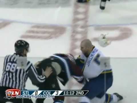 Bob Boughner vs. Barret Jackman