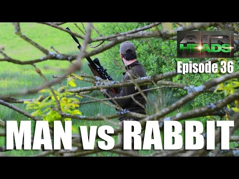 Airgun Man vs Rabbit – AirHeads, episode 36