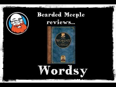 Bearded Meeple reviews: Wordsy