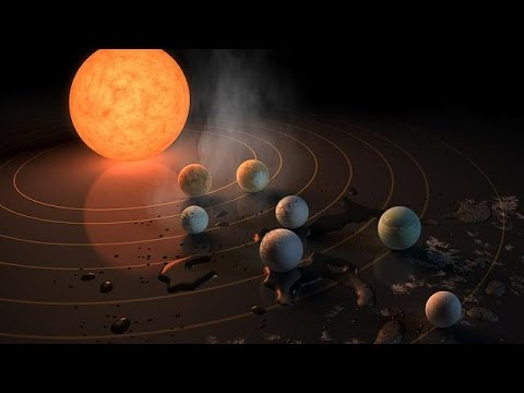 Επιστήμονες ανακάλυψαν επτά εξωπλανήτες