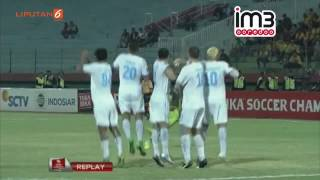 Bhayangkara FC Vs Arema Cronus 01 Highlights TSC 12 September 2016