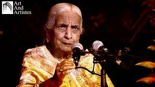 Vidushi Girija Devi   Kajari   Lage Badariya   Taal – Dadra   Raag – Mishra Pilu