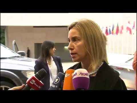 Foreign Affairs Council  - arrival by Federica Mogherini