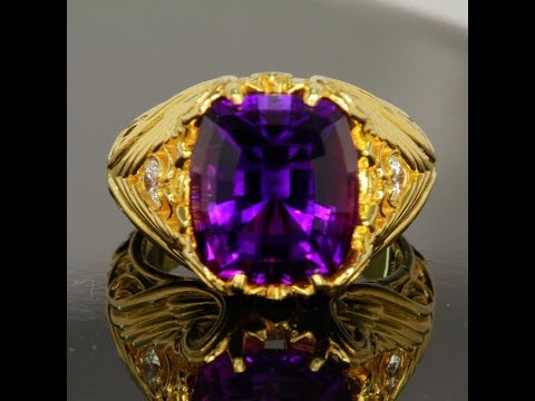 Amethyst Ring by Christopher Michael