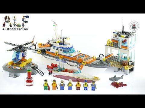 Vidéo LEGO City 60167 : Le QG des garde-côtes