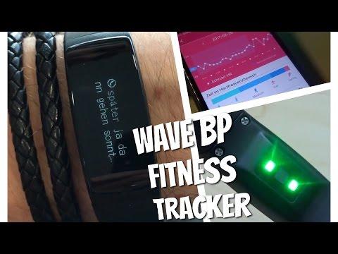 Der misst sogar den Blutdruck🏅WAVE BP Fitness Tracker im Test Review