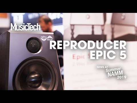Smooth low-end reproduction promised with ReProducer Epic 5 monitors #SummerNAMM2019