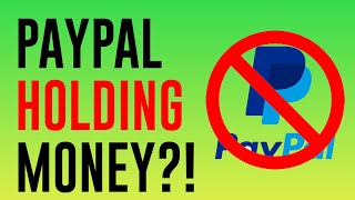 PayPal Holding Money For 21 Days | A REAL Solution to PayPal Holding Funds!
