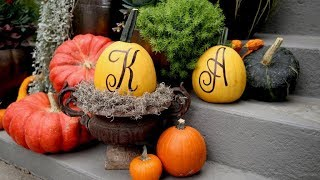 Seven Ways To Decorate Pumpkins Without Carving!