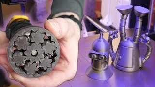 Awesome 3D Printed Things! (timelapse Episode 11)
