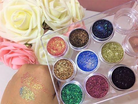 ♡ Como Hacer Tu Paleta de Glitter Para Ojos SUPER FACIL!