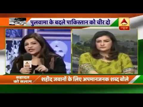 Pakistani anchor ka India ko karara jawab rap ki Surat me - svtv